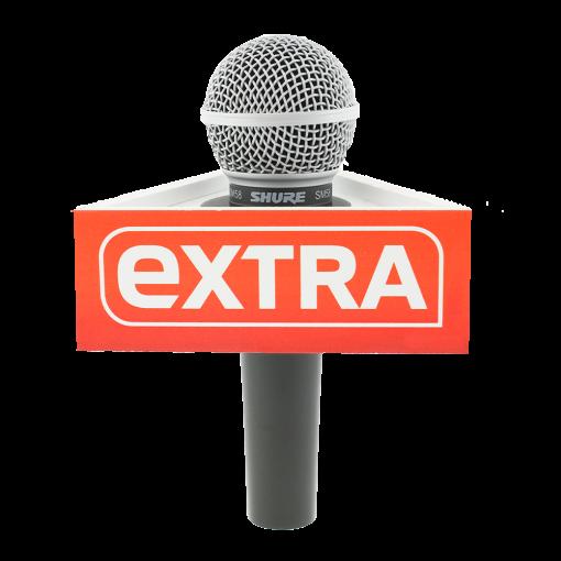 EXTRA Triangle Mic Flag