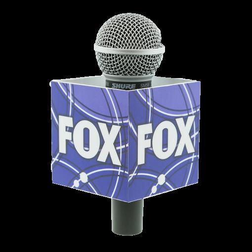 FOX SQUARE MIC FLAG