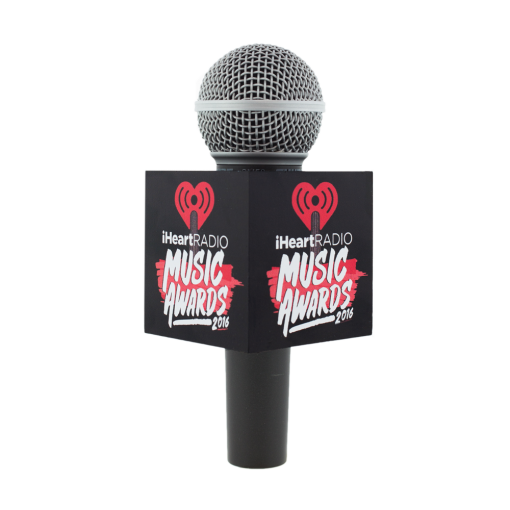 IHEARTRADIO MUSIC AWARDS LIVE MIC FLAG